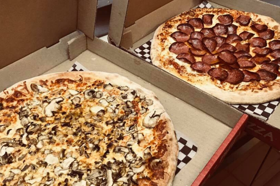 Pizza de Taxi Pizza